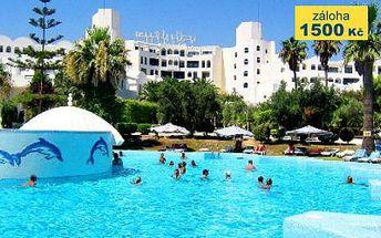 Tunisko, oblast Port El Kantaoui, doprava letecky, polopenze, ubytování v 4* hotelu na 8 dní