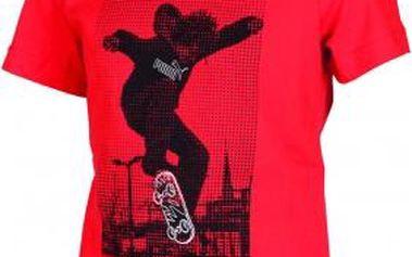Dětské triko Puma B 04 TEE červená