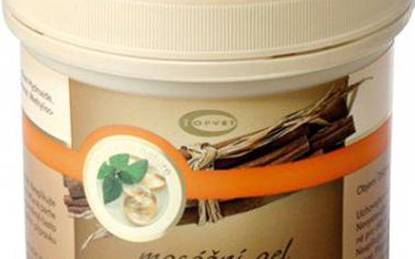 Skořicový masážní gel 500ml pro hladkou pokožku bez ďolíčků!
