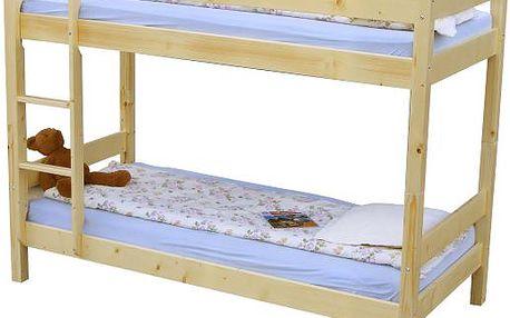 Patrová postel do dětských pokojů SCONTO LEO