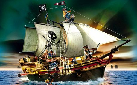 PLAYMOBIL 5135 Pirátská útočná loď