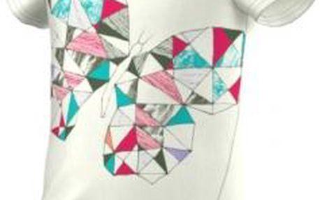 Dívčí outdoorové tričko GIRLS PRINT TEE