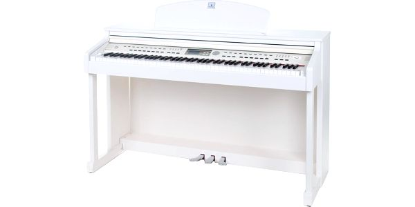 Digitální piano s doprovody Dynatone DPR-2200 WH