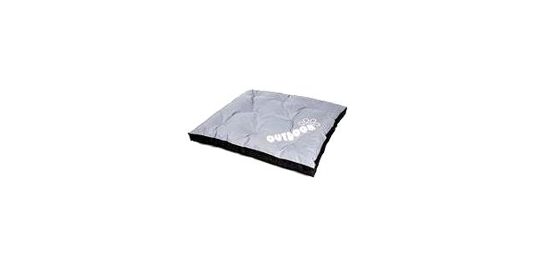 Matrace nylon Sucharda šedo/černá outdoor 120 x 100 x 10 cm