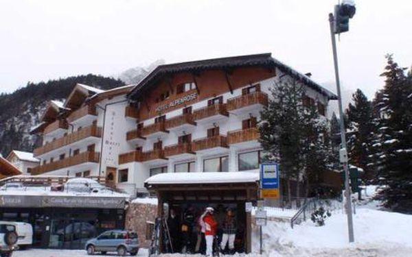 Itálie, oblast Val di Fassa e Carezza, doprava vlastní, polopenze, ubytování v 3* hotelu na 8 dní