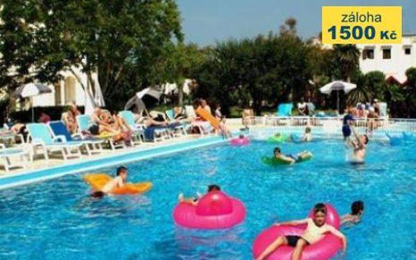 Řecko, oblast Korfu, doprava letecky, snídaně, ubytování v 3* hotelu na 8 dní