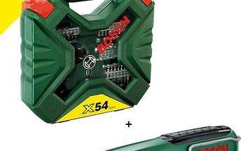 Set Bosch 54-dílný X-Line set + laserová vodováha PLL 5