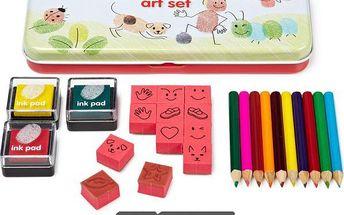 Kreativní sada pro malování prsty!