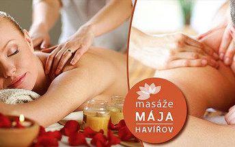 Regenerační masáž dle výběru