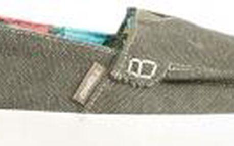 Stylová pánská letní obuv DOCKER SLIPON CVS šedá