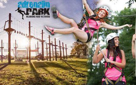 5 akčních atrakcí v Adrenalin parku