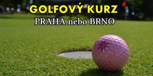 Zapojte se do intenzivního golfového kurzu v Praze či Brně a staňte se golfisty za super podmínek. 12x 50min lekcí, včetně vstupů a míčů a závěrečné zkoušky, vše jen za 3290 Kč.
