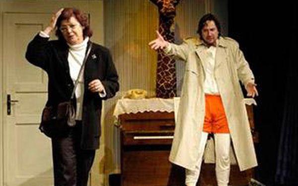 Divadelní představení komedie Kosa nabitá slovním a situačním humorem a skvělým hereckým obsazením.