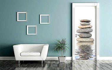 Samolepící vinylová fototapeta na dveře - 10 motivů