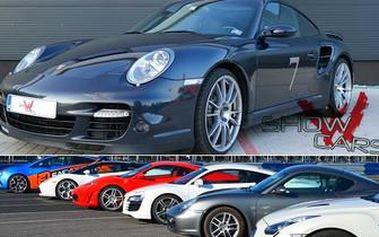 Užijte si ADRENALIN v jednom z 9 supersportů dle vašeho výběru (BMW, Porsche, Ford Mustnag, Subaru)