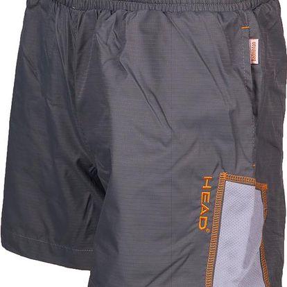 Tenisové kraťasy Short Men Junior grey, šedá, 164
