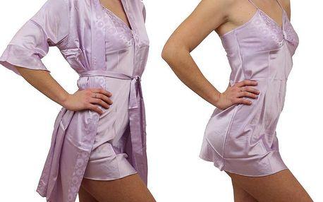 Svůdný set nočního prádla - Noční košilka + župánek