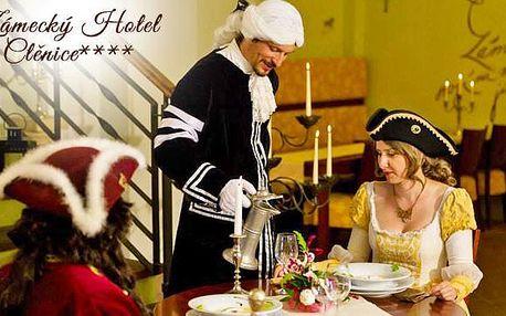 Romantická večeře nebo degustační menu na zámku!