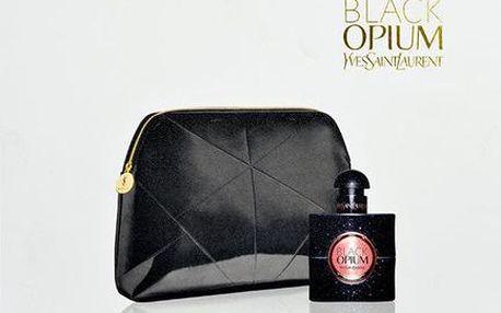 Parfémovaná voda Yves Saint Laurent Black Opium Edp 30ml + kosmetická taška