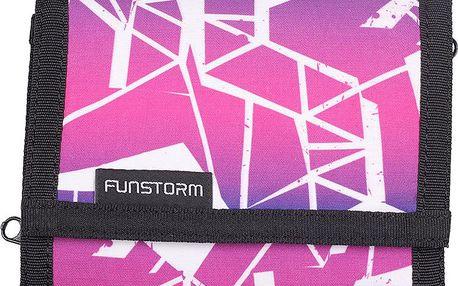 Celopotištěná peněženka Wallet 03418 pink