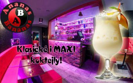 Ananas Bananas BAR! Ochutnejte ty nejlepší KOKTEJLY v Praze včetně MAXI koktejlů!