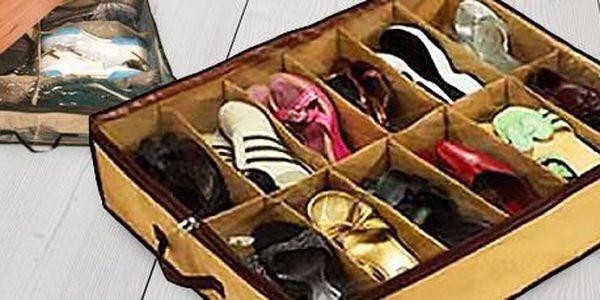 2 ks organizérů pod postel: uložte si boty nebo oblečení přehledně.