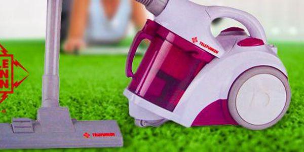 Holandský vysavač s vakuovým systémem Telefunken: dokonalá čistota vašeho domova!