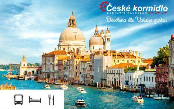 Zájezd do Benátek s koupáním u moře