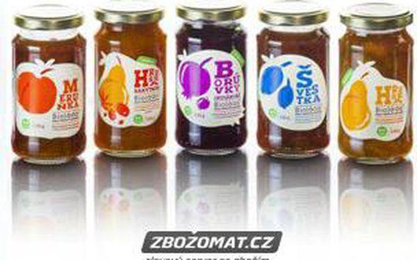 Bioláda - ovocný džem bez cukru 230 g!