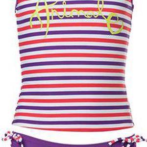 Dětské plavky, fialová