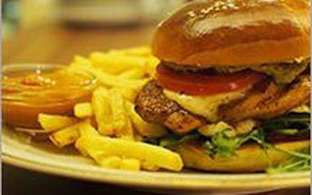 Luxusní burger TALIÁNEC