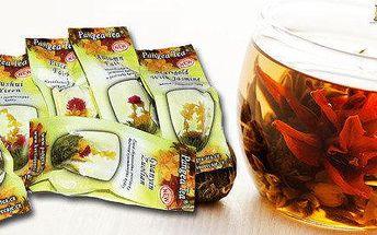 Sady květinových čajů - blooming tea