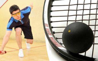 Pronájem kurtu na squash nebo ricochet v Ostravě za fantastickou cenu, moderní prostory.