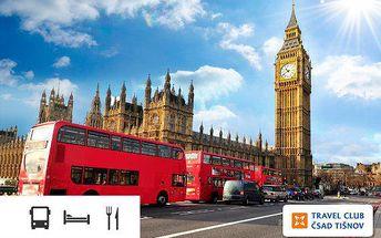 5denní poznávací zájezd do Londýna