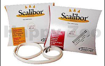 SCALIBOR antiparazitní obojek 65cm