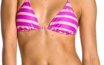Zajímavě designové plavky Tiki Tri 70S Lowrider Tie uviolet wavelength, růžová