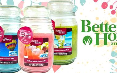 Provoňte byt aromatickými svíčkami Better Homes