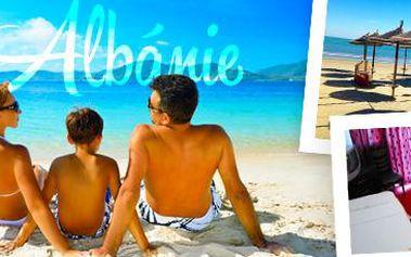 Neobyčejná Albánie: 7 dní (6 nocí) pro 1 osobu s polopenzí v hotelu Elba****!