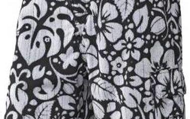 Pánské plavecké šortky - adidas HAWAII SWIM SHORT černá/bílá