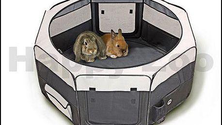 Nylonový výběh pro štěňata nebo králíky KARLIE-FLAMINGO Smart Top Loft 74x74x35cm