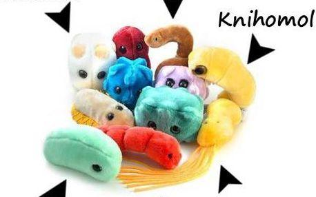 Obří plyšoví mikrobi - pořiďte si domů svého bacila!