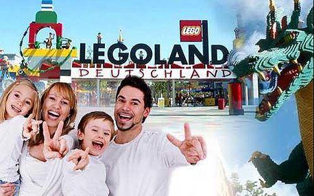 Jednodenní výlet do Legolandu is nabídkou Star Wars včetně vstupenky