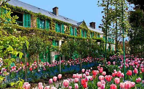 Poznávací zájezd do Paříže a Monetových sídla Giverny s ubytováním, s dopravou a s průvodcem