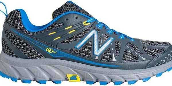 Pánské pohodlné běžecké boty New Balance MT610GY4–2E vhodné i do terénu