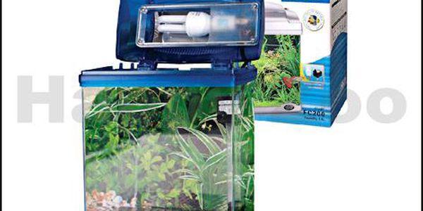 Plastový akvarijní set HAILEA FC-200-2 (4l) modrý
