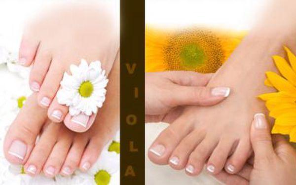 PEDIKÚRA-KOMPLETNÍ KOSMETICKÝ BALÍČEK! Koupel, vyleštění, jemná masáž a další + možnost LAKOVÁNÍ!