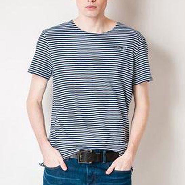 Pruhované pánské tričko G-Star Raw