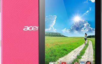 Designový tablet Acer Iconia One 7 Fragrant Pink