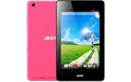 Designový tablet Acer Iconia One 7 Fragrant Pink