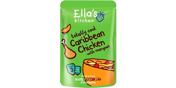 Ella´s kitchen Karibské kuře smangem 190g